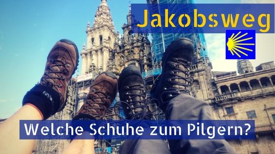 Jakobsweg Schuhe