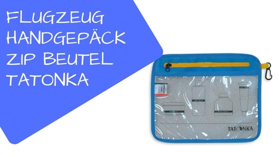 Zip Beutel Tatonka