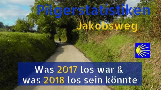 Beitragsfoto Pilgerstatistiken 2017