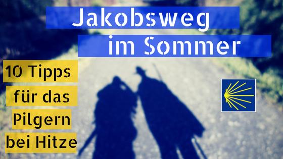 Jakobsweg im Sommer